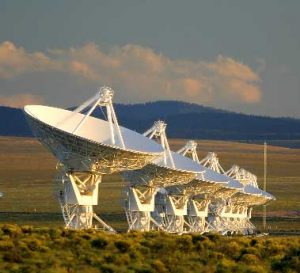 Very Large Array, west of Socorro