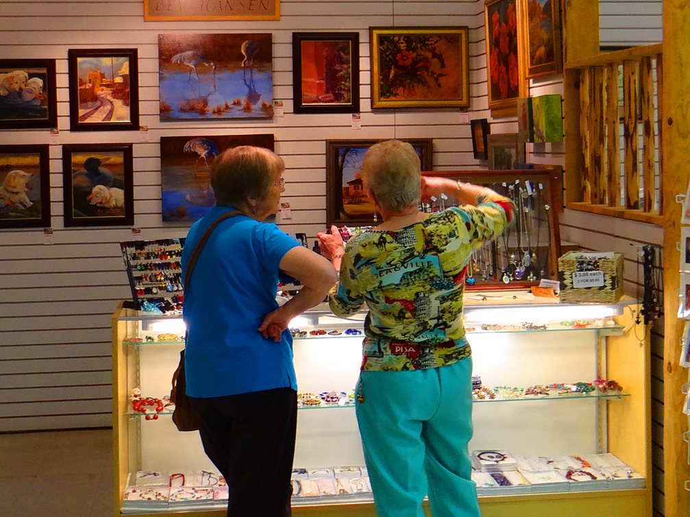 Alamo Gallery-Shoppers