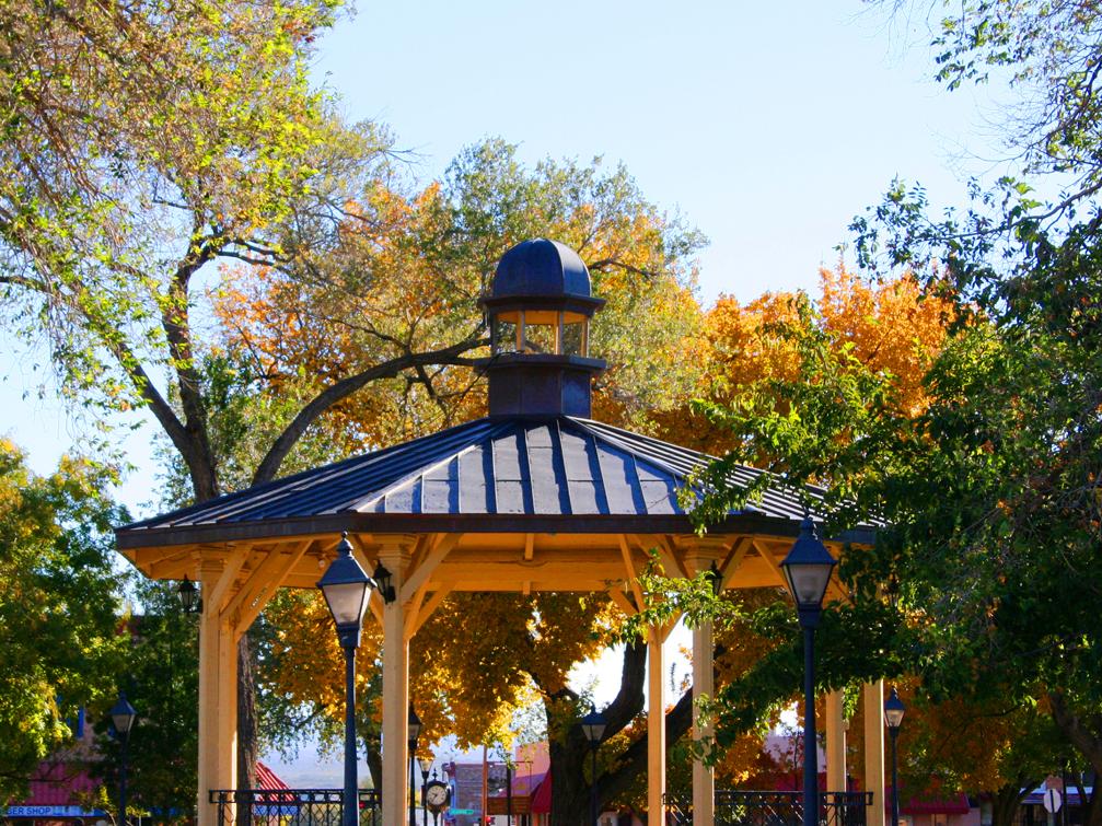 Plaza Autumn