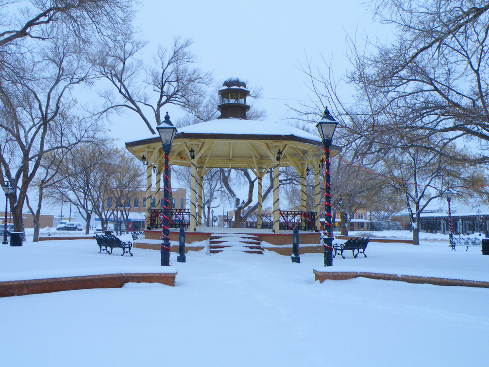 Plaza Winter