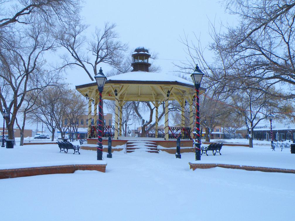 Plaza Winter
