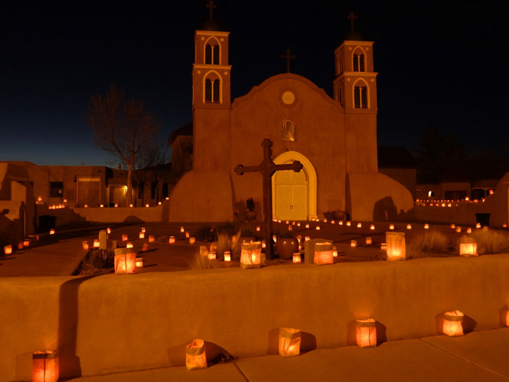 San Miguel Church Luminarias 2013