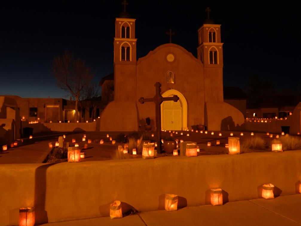 San Miguel Church Luminarias 2013