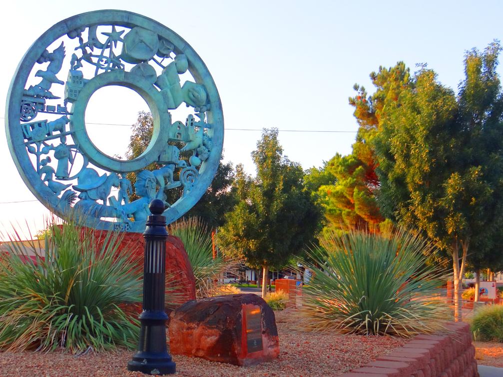 Socorro History Wheel
