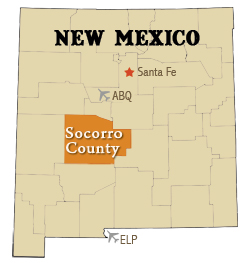 Socorro County in New Mexico