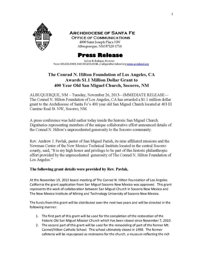 11-26-13 San Miguel Press Release_Page_1