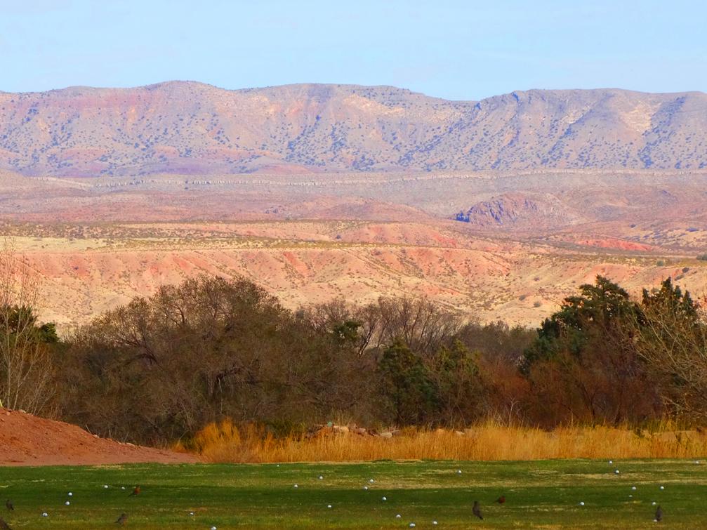 NM Tech Golf-Driving Range View
