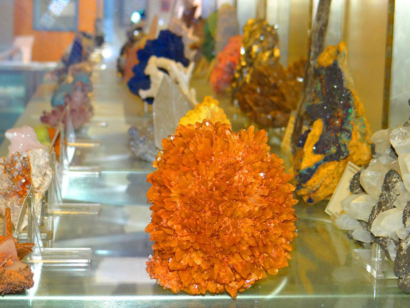 Mineral Musem at New Mexico Tech