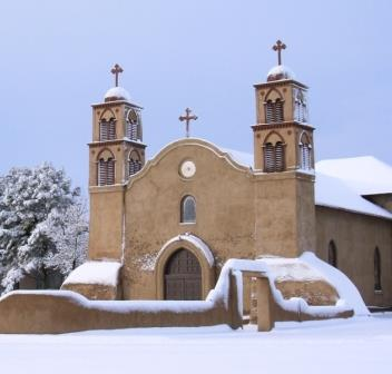 San Miguel in the Snow