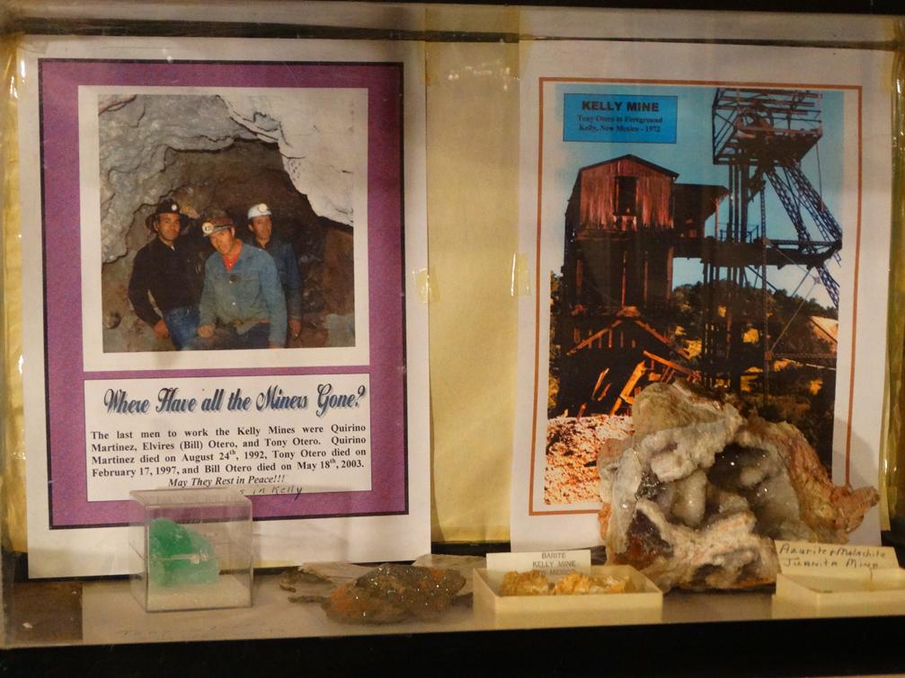 Box Car Museum Mine Display