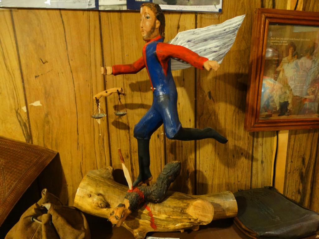 Box Car Museum Museum-San Miguel Figurine