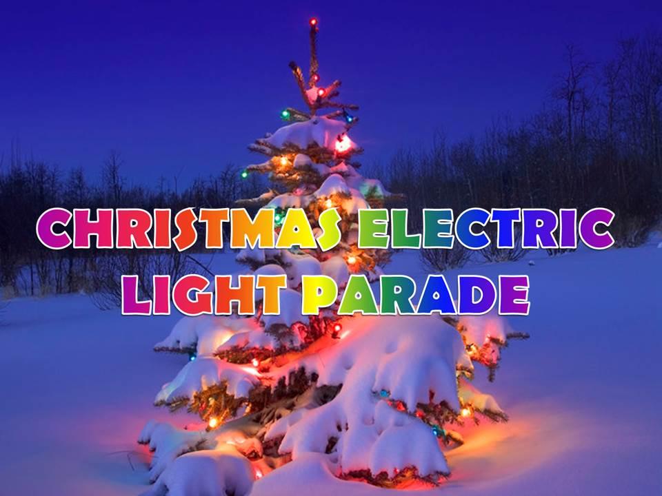 Christmas Electric Light Parade Logo 12-13-13