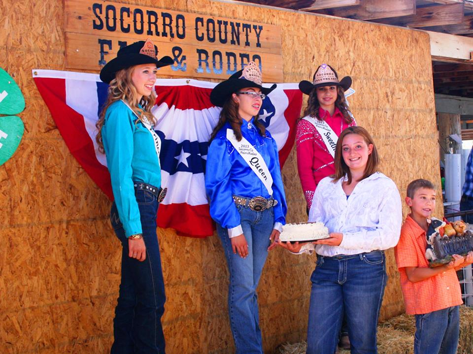 Socorro County Fair Royalty 2013