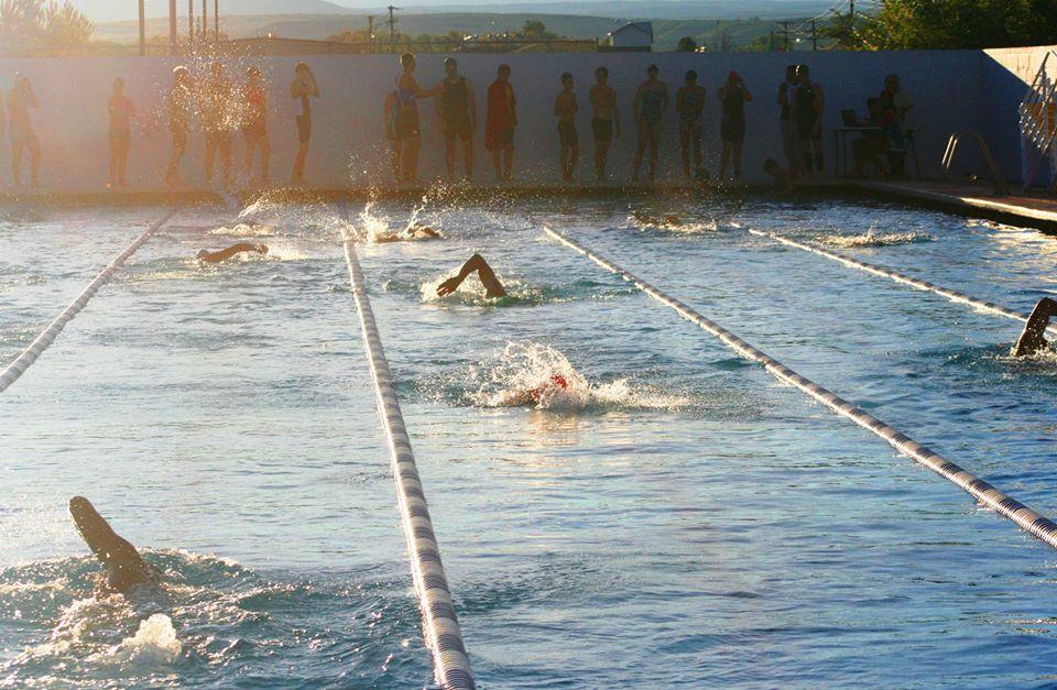 Chile Harvest Trialthon Swimming-2 2013