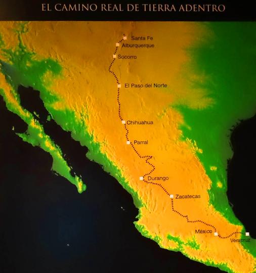 El Camino Real Map