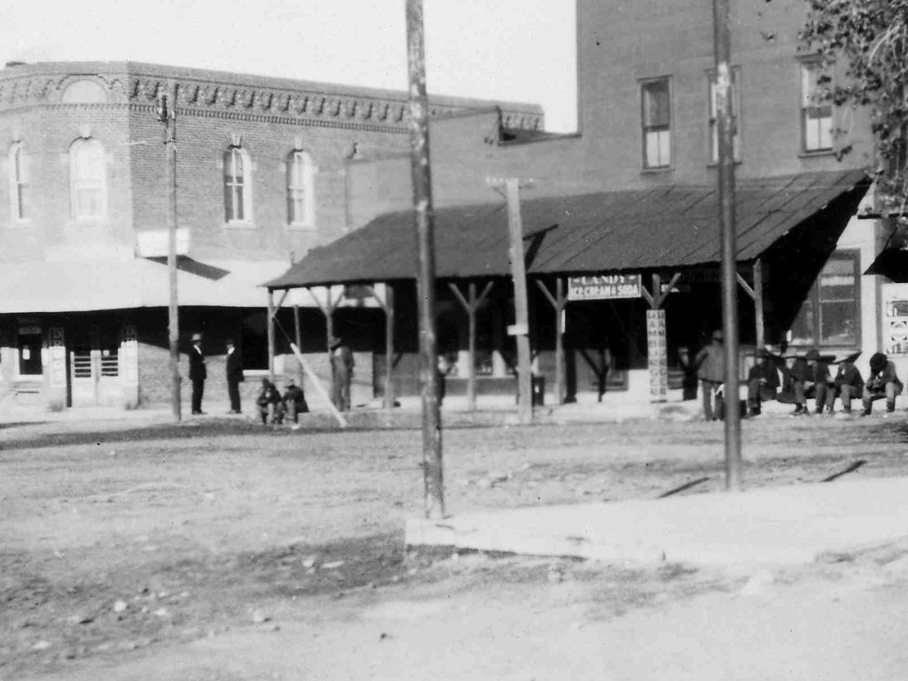 Historic Photo of the East End of the Plaza