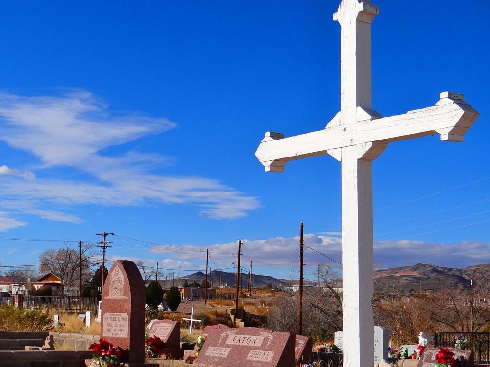 San Miguel Cemetery Cross