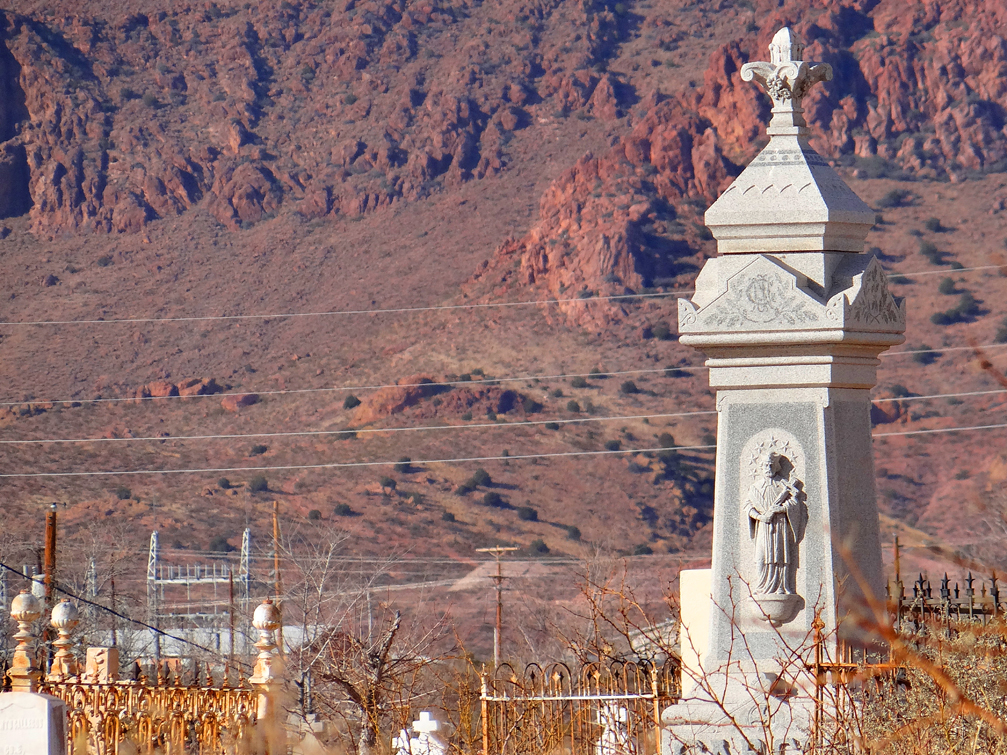 San Miguel Cemetery Headstone
